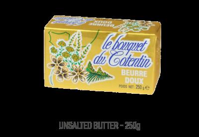 Beurre doux le bouquet du Cotentin 250g