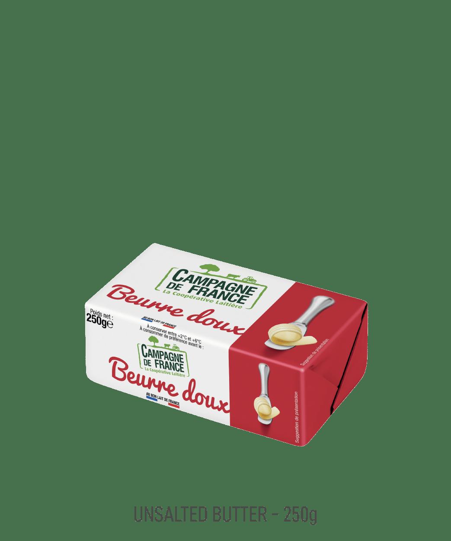 Beurre doux Campagne de France 250g