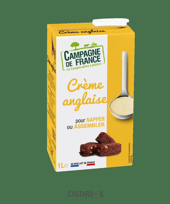 Crème Anglaise Campagne de France 1L