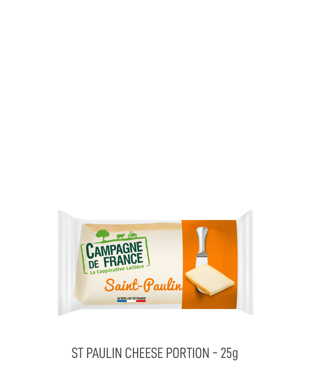 Fromage st Paulin Campagne de France portion 25G