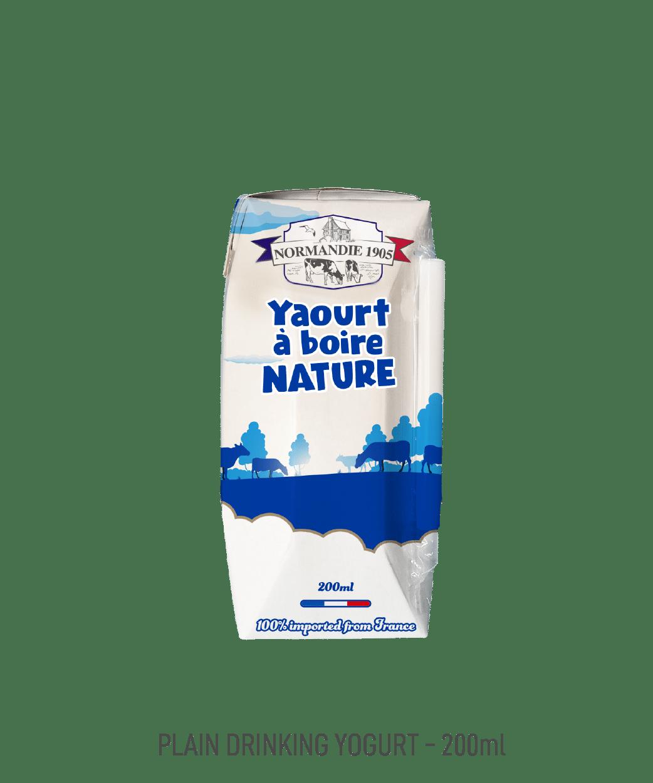 Yaourt à boire Normandie 1905 nature 200ml