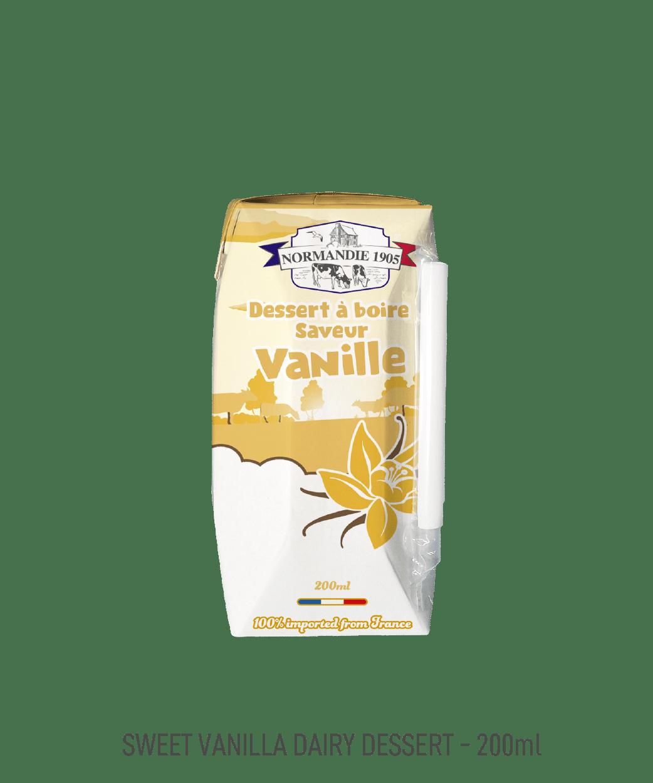 Dessert à boire Normandie 1905 vanille 200ml