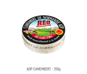 Camembert de Normandie au lait cru AOP Reo 250g