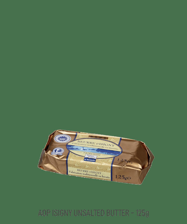 Beurre doux AOP Isigny tribehou 125g moulé