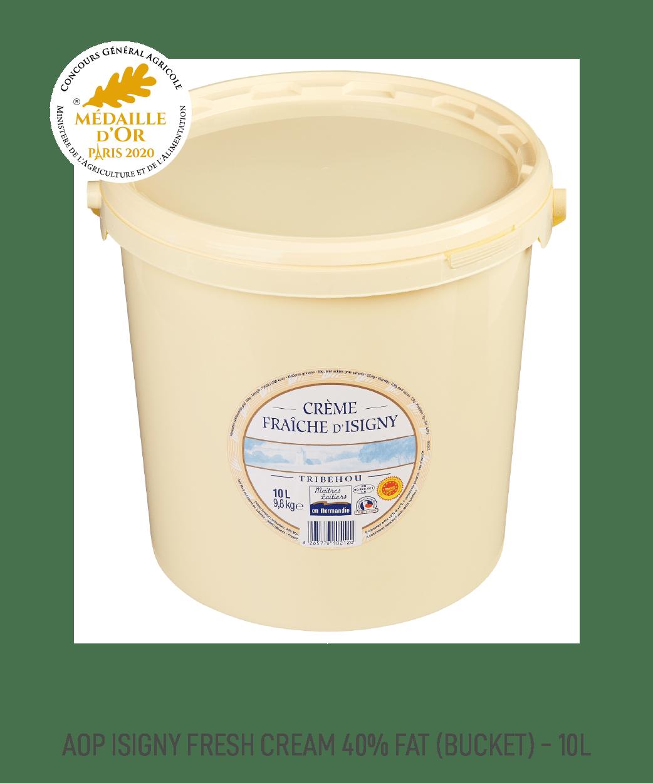 Crème Fraîche AOP 40% MG Isigny 5L
